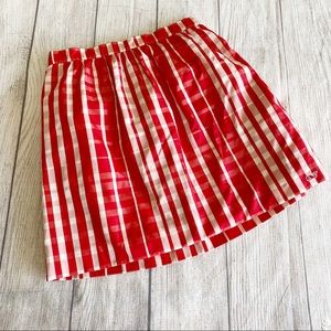 Vineyard vines red/white skirt
